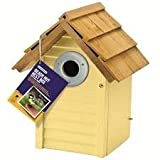 Gardman Beach Hut Nest Box Creamy Yellow