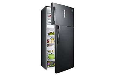 Samsung RT65K7058BS/TL Frost Free Freezer-on-Top Free-Standing Refrigerator (670 Ltrs, 3 Star Rating, Black Inox)