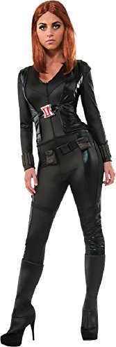 Morris Costumes RU886334LG Black Widow Adult Large