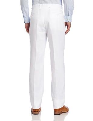 Calvin Klein Men's White Linen Slim-Fit Suit