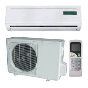 Air Conditioner Ductless Mini Split With Heat Pump 18000 Btu