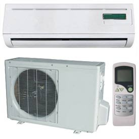 Air Conditioner Ductless Mini Split With Heat Pump 9000 Btu