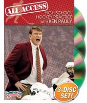 Ken Pauly: All Access High School Hockey Practice (DVD) by Championship Productions