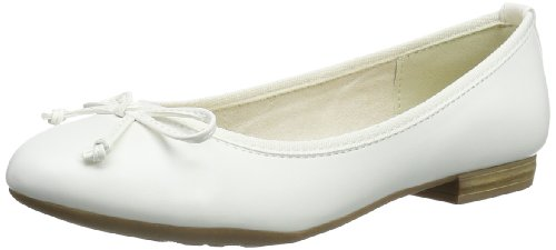 Marco Tozzi Womens 2-2-22137-22 Closed White Weià (WHITE 100) Size: 41