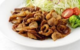 やんばる島豚あぐー ≪黒豚≫ 生姜焼き 260g×3P フレッシュミートがなは 沖縄県産あぐー豚肉を使用したジューシーで甘辛な生姜焼き