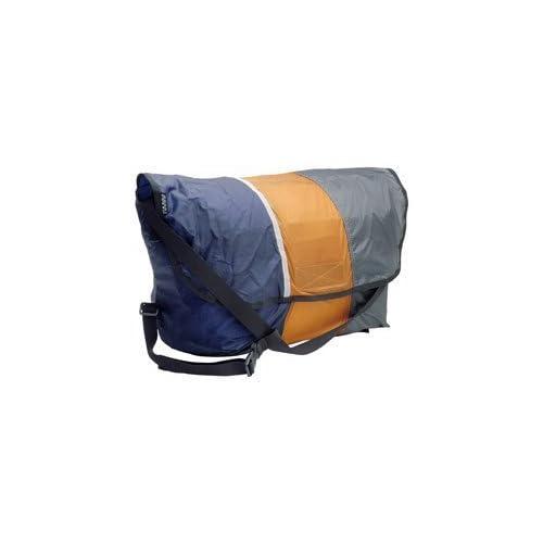GIZA(ギザ) ミニフィ コンパクト メッセンジャー バッグ ネイビー×キャメル×グレー 15L BAG27604