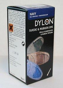 Dylon - Tinta per scarpe scamosciate e in nabuk, colore: Blu marino