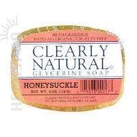 clearly-natural-bar-soap-honeysuckle-4-oz-3-pk