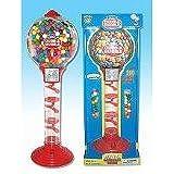 Spiral Fun 3 Foot Tall Plastic & Metal Gumball Bank