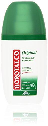 Borotalco - Deo Vapo, Original Profumo Di Borotalco, Effetto Asciutto - 75 Ml