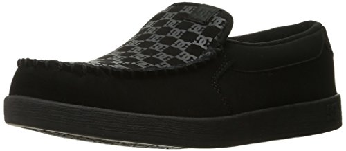 DC Men's Villain Skate Shoe, Black Print, 10.5 M US
