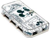 MCL SAMAR - MICKEY MOUSE - MINI HUB USB 2.0 - 4 PORTS