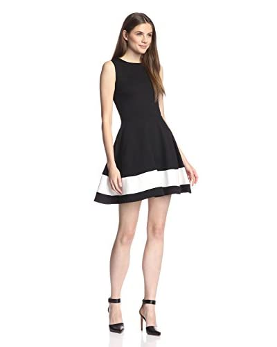 Love…Ady Women's Colorblocked Fit-and-Flare Dress