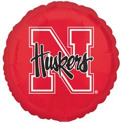 Nebraska Cornhuskers - Foil Balloon Party Accessory