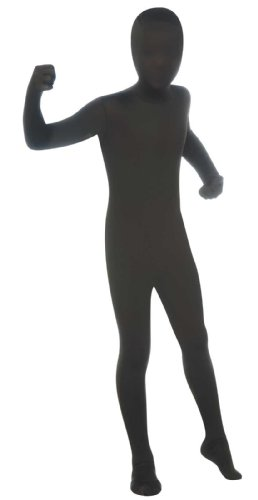 Black 2nd Skin Suit Kids Costume