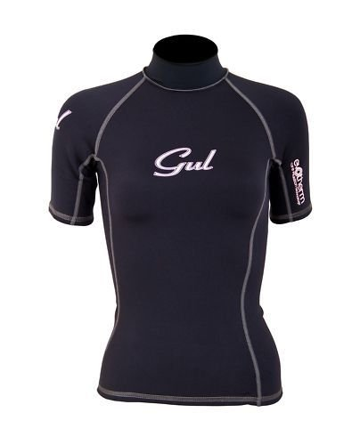 Gul Ladies Evotherm Thermal Short Sleeved Rash Vest