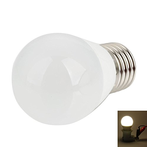 Ball Bulbs - E27 5W 21Leds 2700-3000K Warm White Light Led Ball Light Bulb (100-240V)