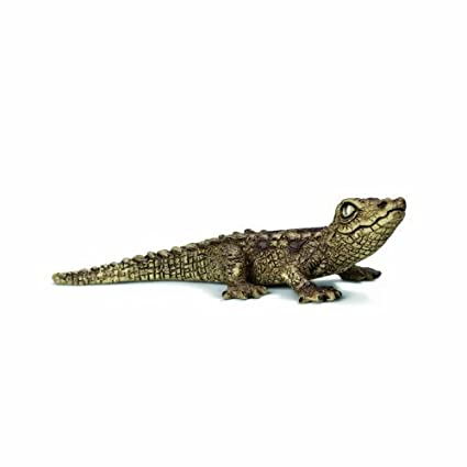 Schleich Baby Crocodile Toy Figure by Schleich TOY (English Manual)