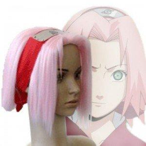 Japan Anime Naruto Shippuden Sakura Haruno Cosplay Wig