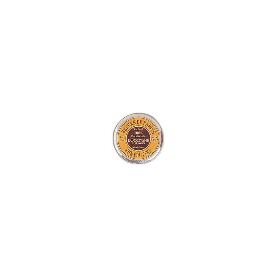 LOccitane En Provence   Shea Butter 100% Pure Shea Butter Mini Tin Travel Size .26oz