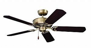 Emerson Cf755Ab Designer Ceiling Fan, Antique Brass front-634205