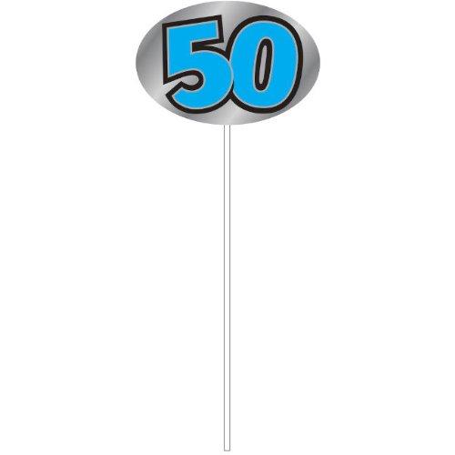 50th Birthday Foil Picks (6ct) - 1