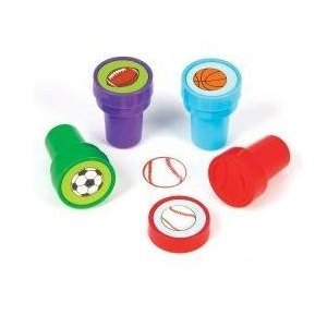 ~ 4 ~ Sports Balls Stampers ~ 1.5