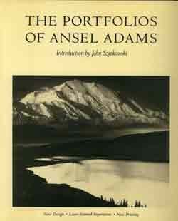 The Portfolios of  Ansel Adams   (A New York Graphic Society book)