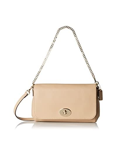 Coach Women's Mini Ruby Cross-Body, Nude