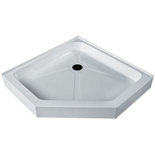 Review VIGO VG06069WHT47 47 x 47 Neo-Angle Shower Tray White