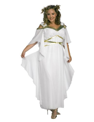 Roman Goddess Adult Costume 16-20 Halloween Costume