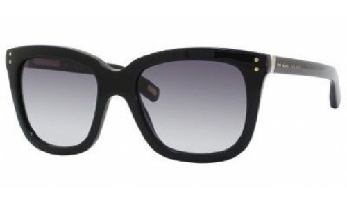 Marc Jacobs Mj384/S Sunglasses-0807 Black (Jj Gray Gradient Lens)-53Mm