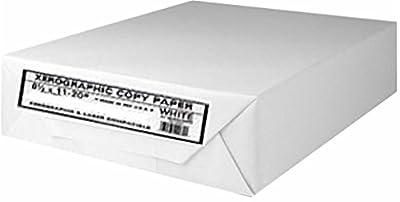 Xerographic Copy Paper Multipurpose Fax Laser Inkjet Printer, 8 1/2 x 11 inch Letter Size, 20 lb. Density, 92 Bright White, Ream, 500 Total Sheets (OM44015-Ream)