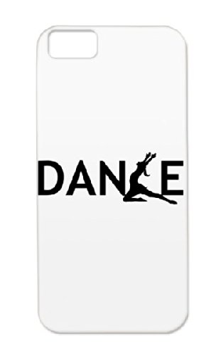 Dance Black Shock-absorbent Dance Dancer Text Funny Lol Art Design Awesome Amazing Ballet Ballerina Dance Electronica Music For Iphone 5c Protective Case