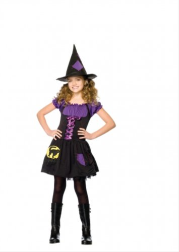 Black Cat Witch Child's Costume