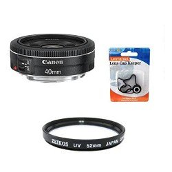 Canon EF40mm f/2.8 STM Pancake Lens Kit