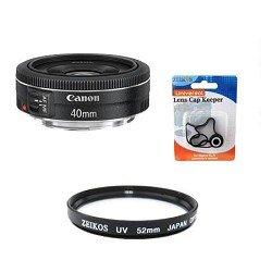 Canon EF40mm f/2.8 STM Pancake Lens Kit