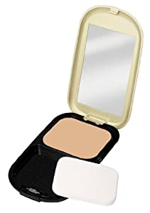 Max Factor Facefinity Compact Make-up 3 Natural, 1er Pack (1 x 10 ml)