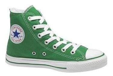 Converse Chuck Taylor All Star Shoes (1J791) Hi Top in Kelly Green, Size: 5 D(M) US Mens / 7 B(M) US Womens, Color: Kelly Green