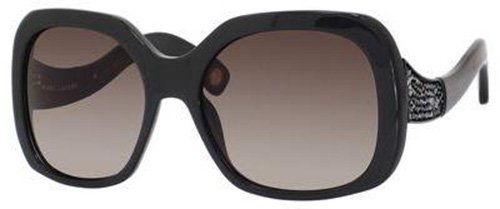Marc Jacobs Marc Jacobs MJ428/S Sunglasses-0DCX Dark Gray (HA Brown Gradient Lens)-57mm