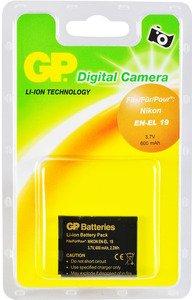 GP Battery Camera Pack Nikon EN EL 19