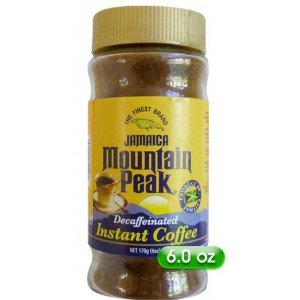Jamaica Mountain peak Decaf Instant Coffee 6oz