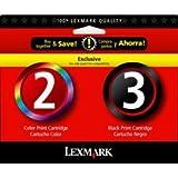 Lexmark #2 & #3 Mono/color Combo