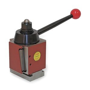 "Dorian Tool SDN Chromium Molybdenum Alloy Steel Super Quick Change Tool Post with Triple Action Locking System, >=25"" Lathe Swing, 6"" Square"