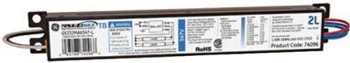 Ge Lighting 74096 Ge232Max347-L 347-Volt Ultramax Electronic Fluorescent T8 Multi-Volt Instant Start Ballast 2 Or 1 F32T8 Lamps