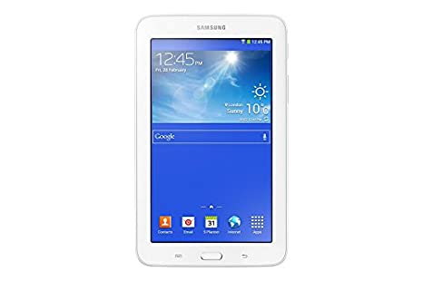 "Samsung Galaxy Tab 3 7 lite Tablette tactile 7"" (17,78 cm) (8 Go, Android, 1 Port USB 2.0, Wi-Fi, 1 Prise jack, Blanc)"