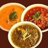 印度料理シタール 行列のできる インドカレー よくばりセット [カレーのみ]