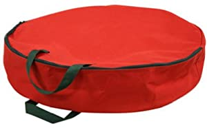 Innovative Case Holiday Jacket 24-Inch Holiday Wreath Storage Bag