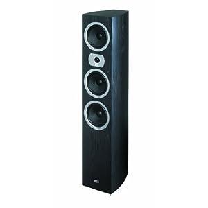 Heco Victa 700 - Altavoz vertical reflector de graves (3 vías, 160/280 W), color negro