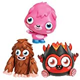 Moshi Monster Mini Monster Poppet, Furi and Diavlo 3pk